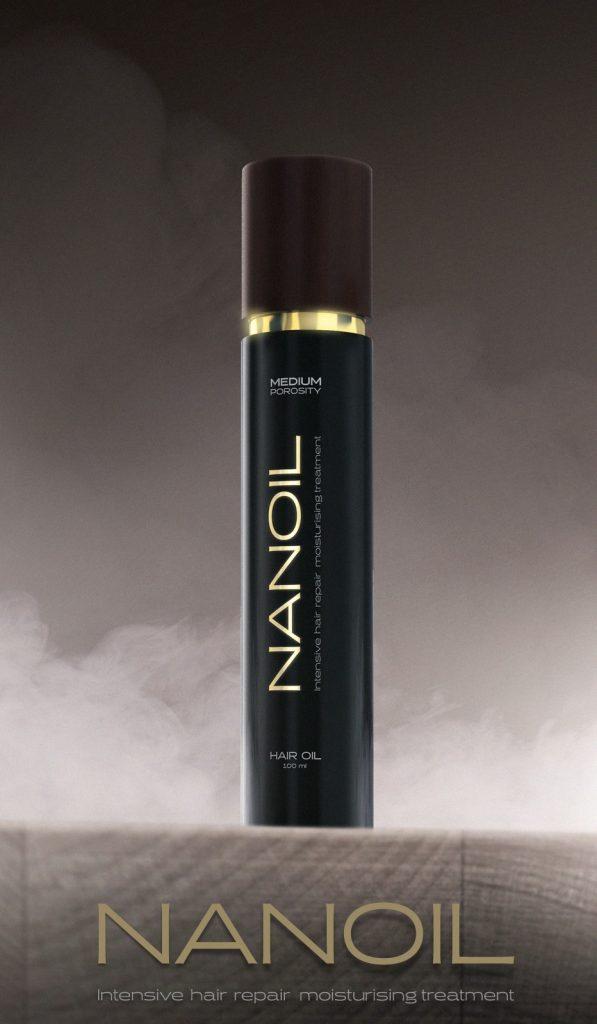 Nanoil do trzech typów włosów