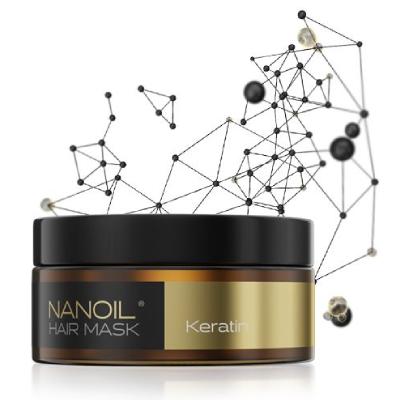 Nanoil Keratin Hair Mask - najlepsza maska do włosów z keratyną